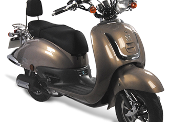 AGM Retro 4takt scooter Euro 4